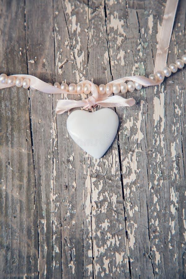 Сердце фарфора стоковая фотография rf
