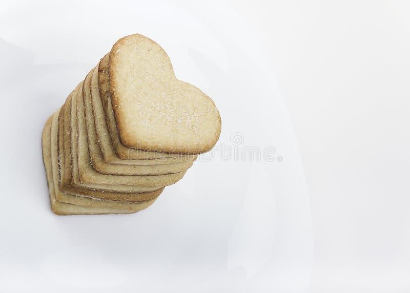 Сердце II печенья стоковые фотографии rf