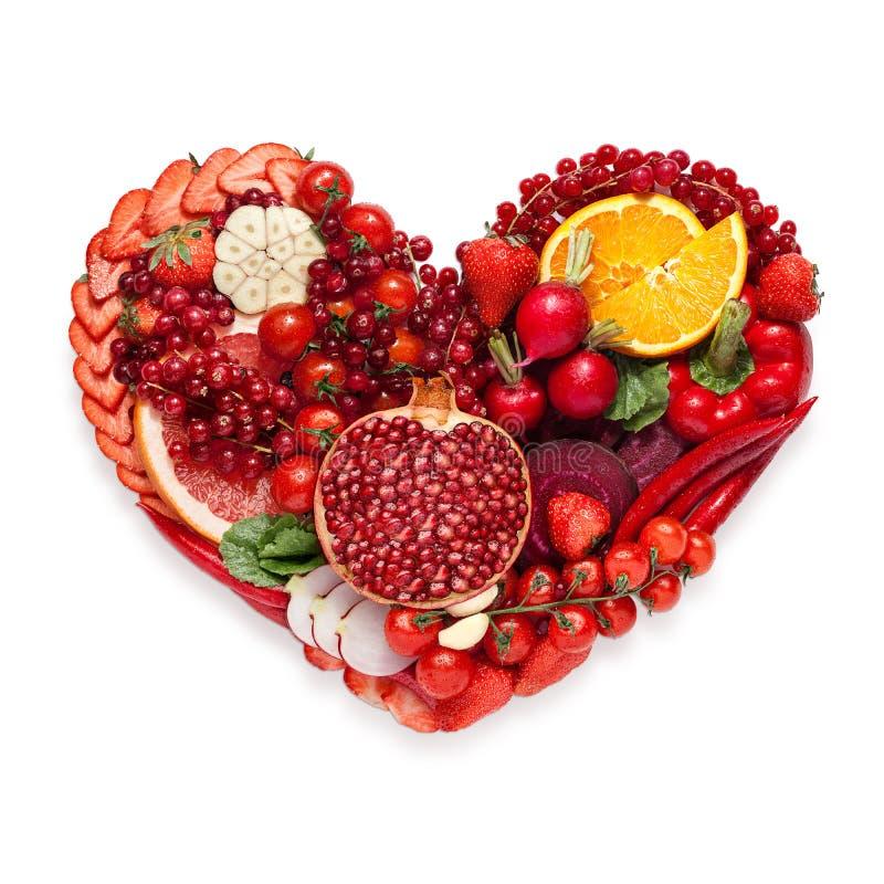 Сердце Veggie стоковое фото