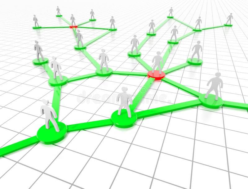 сети социальные иллюстрация вектора