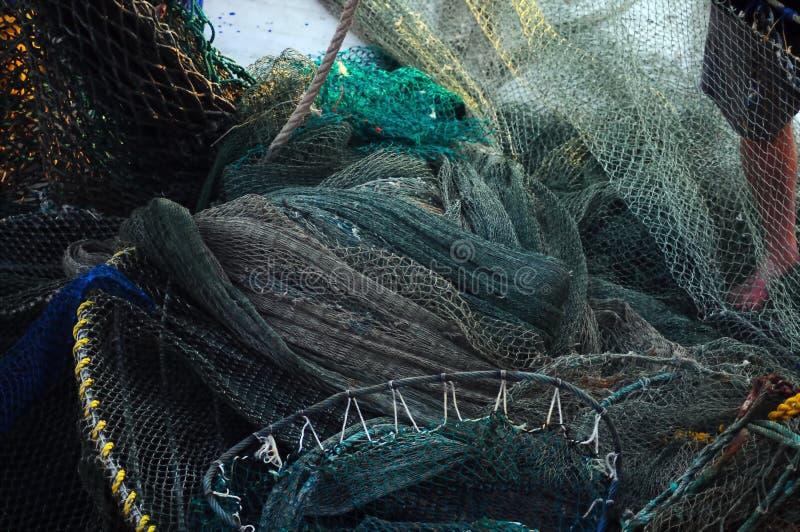 сети shrimping стоковые изображения rf