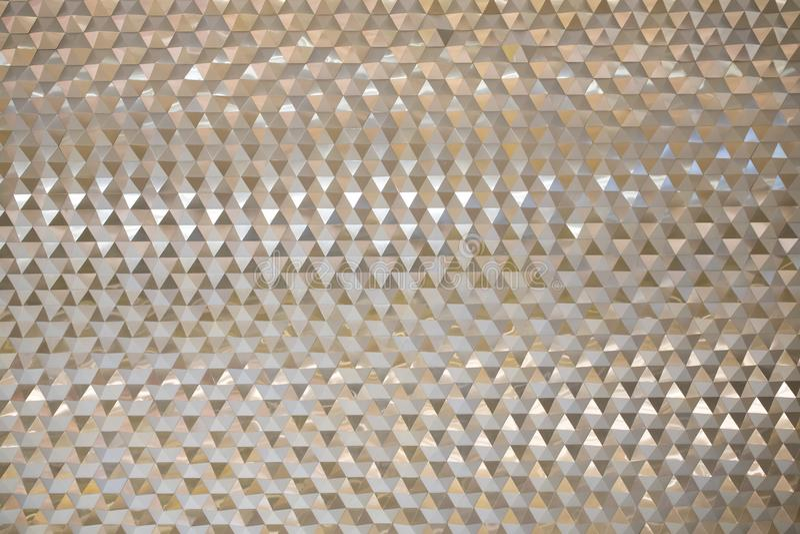 Сетка металла или алюминиевая шестиугольная картина стоковые фотографии rf