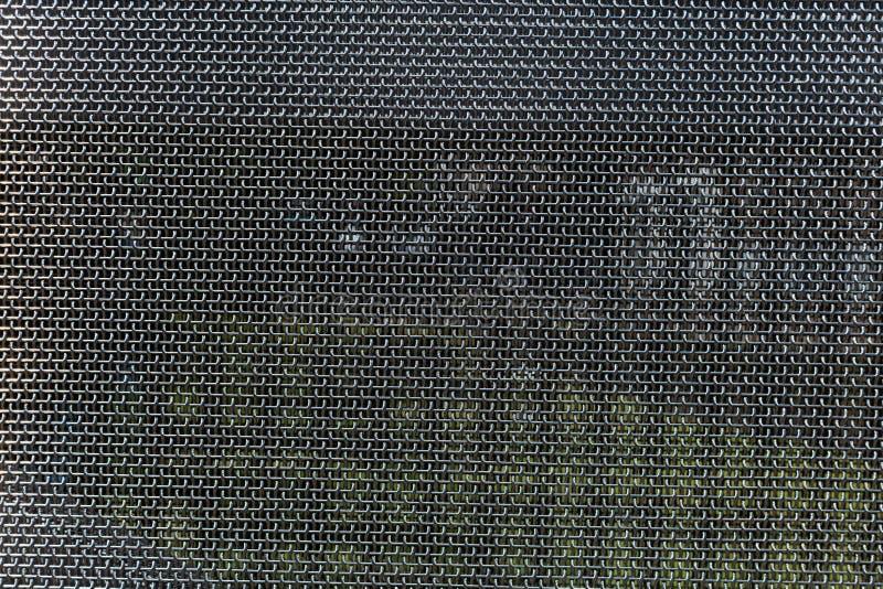 Сетка металла, текстура материала нержавеющей стали, предпосылка стоковые фотографии rf