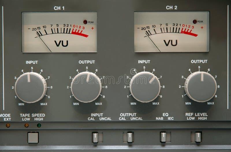 сетноая-аналогов лента машины деталей Стоковые Изображения