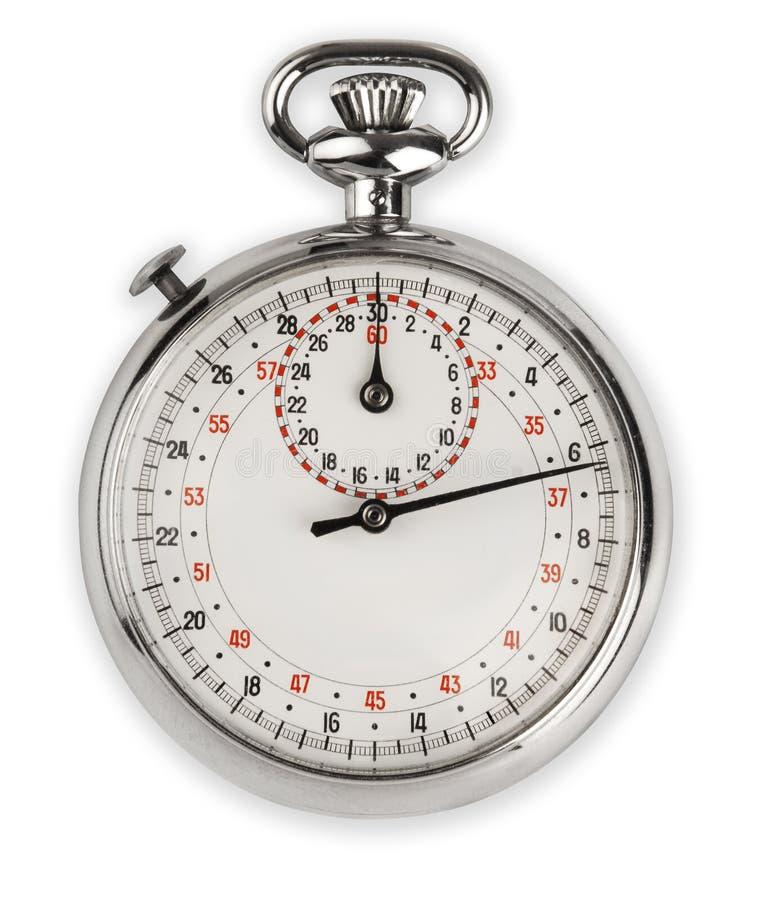 сетноой-аналогов секундомер стоковая фотография rf