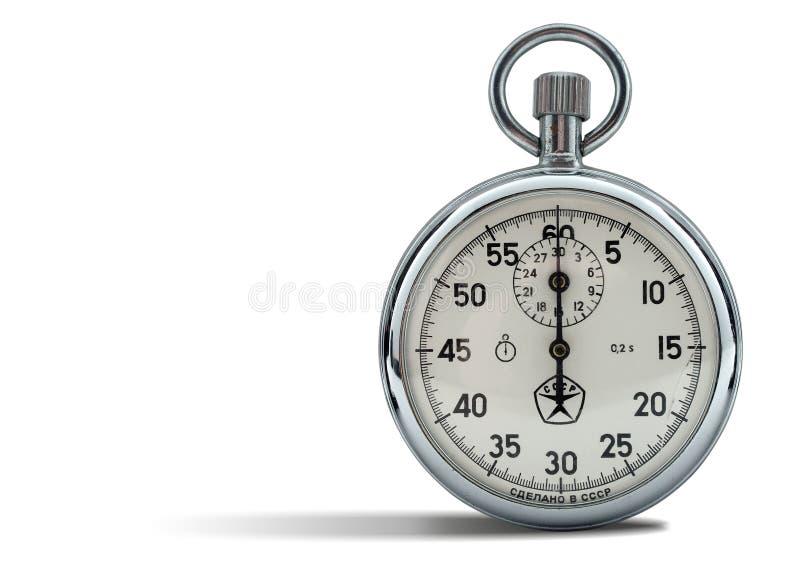 сетноой-аналогов секундомер стоковые изображения