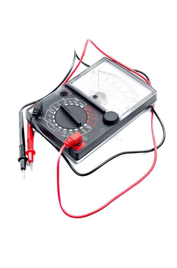 Сетноой-аналогов вольтамперомметр стоковые изображения rf