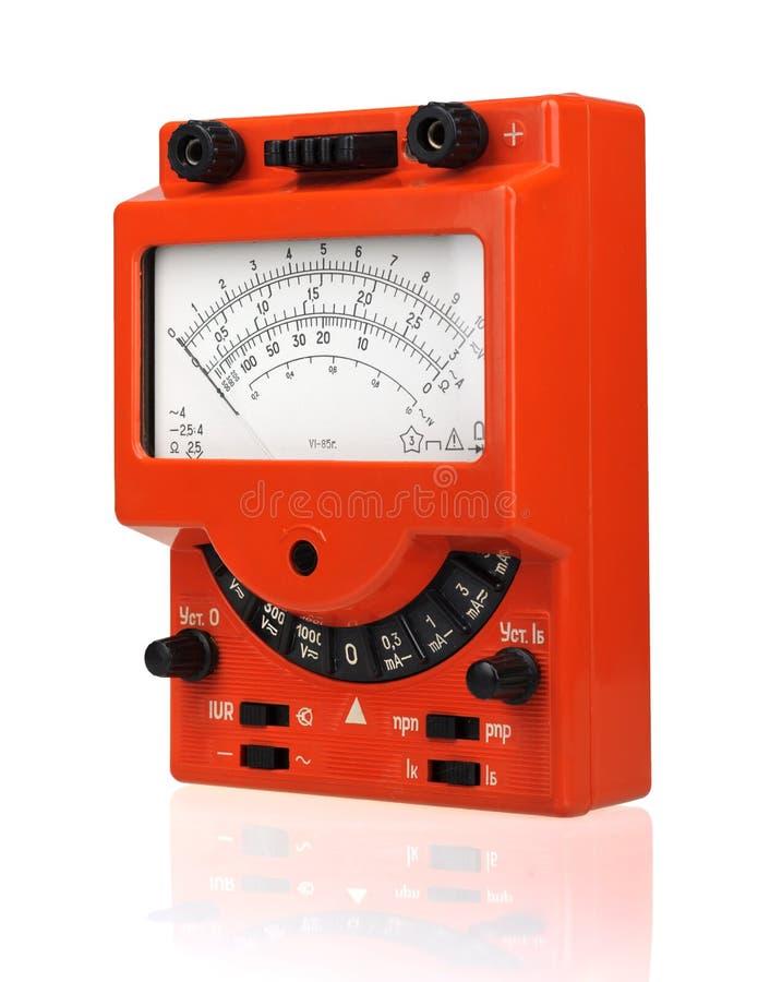 сетноой-аналогов вольтамперомметр стоковые фотографии rf