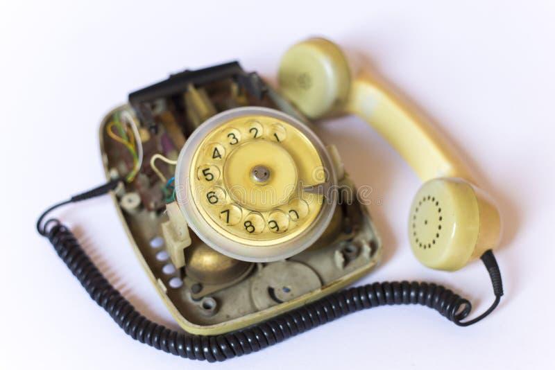 Сетноой-аналогов телефон стоковое изображение rf
