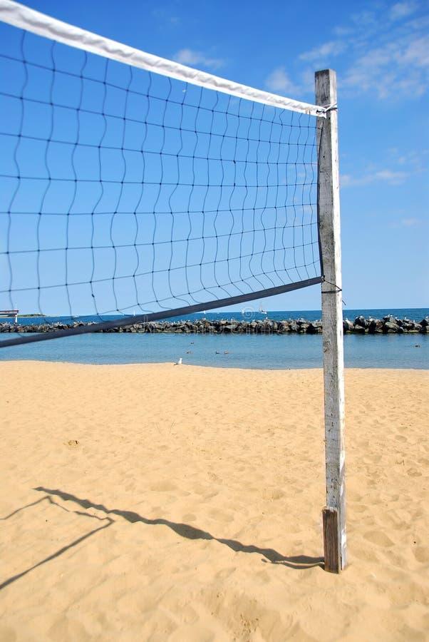 сетчатый волейбол стоковое изображение rf