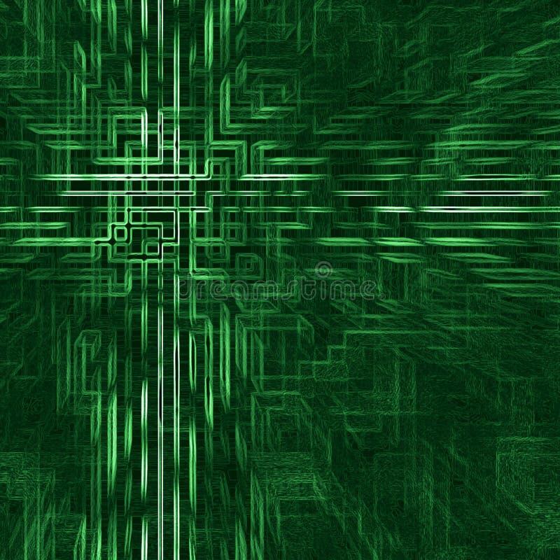 сеть абстрактной цепи предпосылки электронная стоковая фотография rf