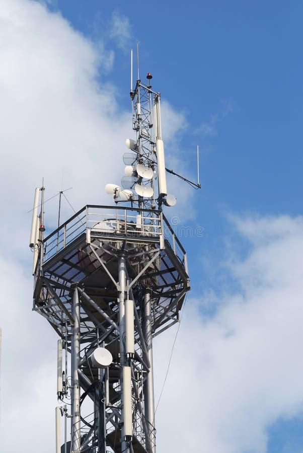 сеть антенны стоковое фото