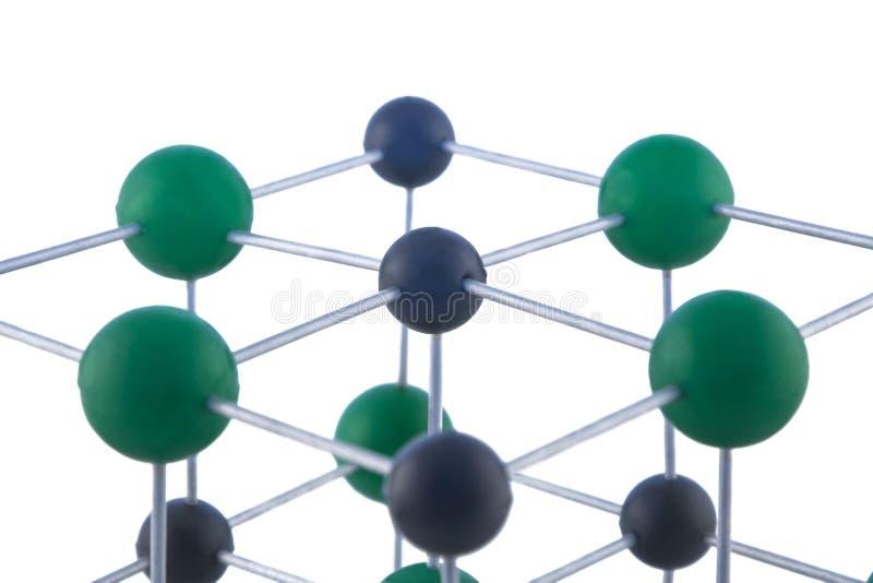сеть атомов стоковое изображение