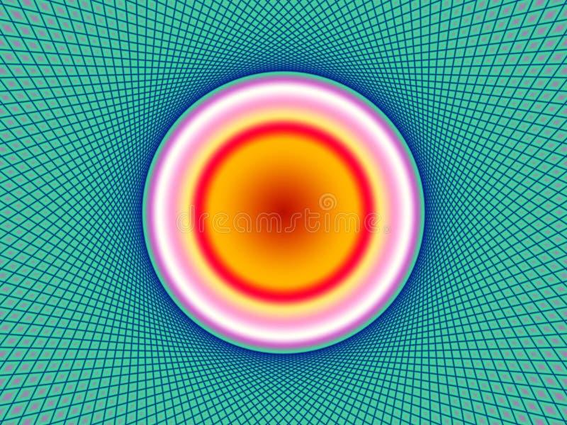 Сеть безопасности богато украшенная иллюстрация вектора