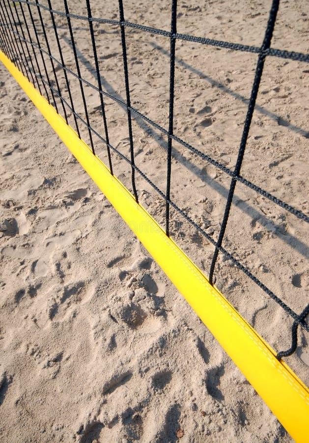 Сеть волейбола стоковые изображения rf