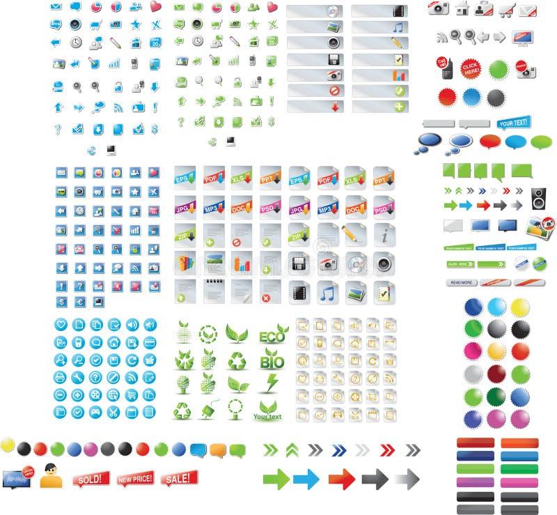 сеть графика собрания бесплатная иллюстрация