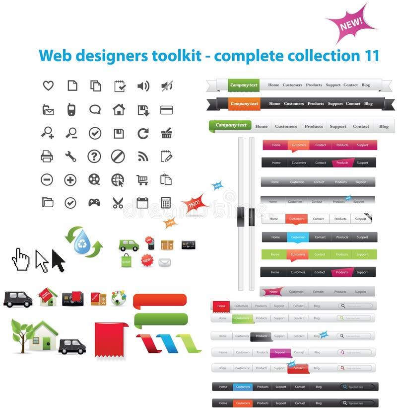 сеть графиков собрания иллюстрация вектора
