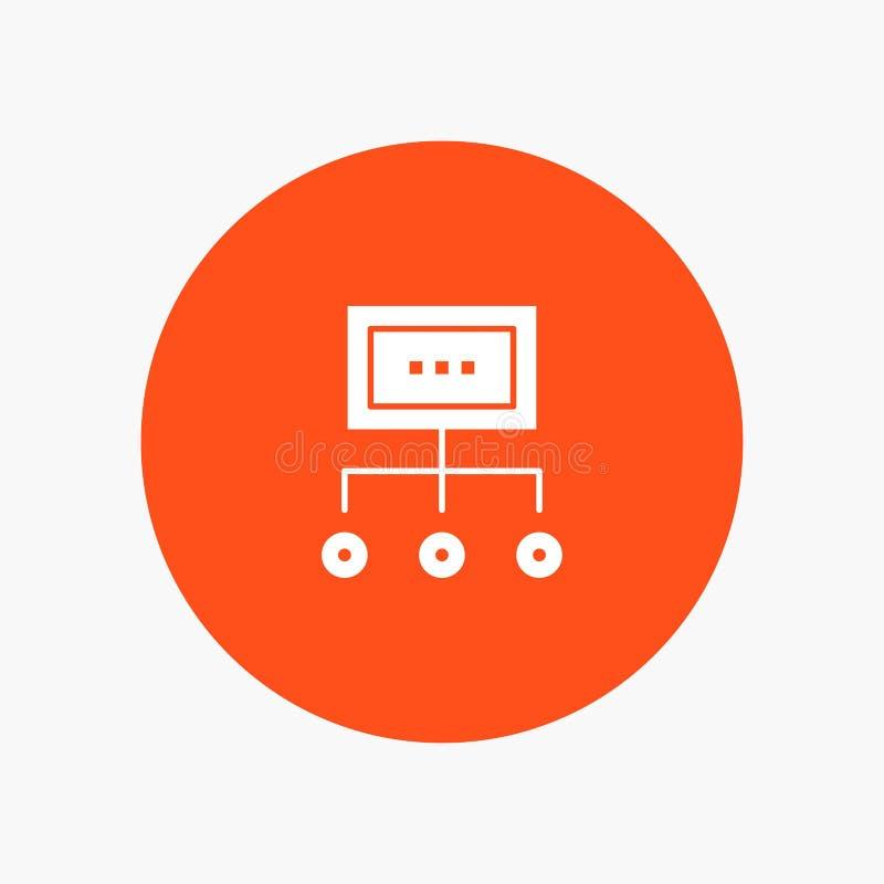 Сеть, дело, диаграмма, диаграмма, управление, организация, план, процесс бесплатная иллюстрация