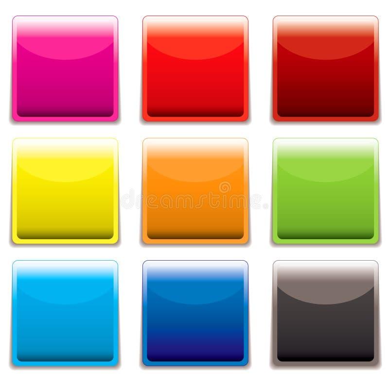 сеть иконы пластичная квадратная бесплатная иллюстрация