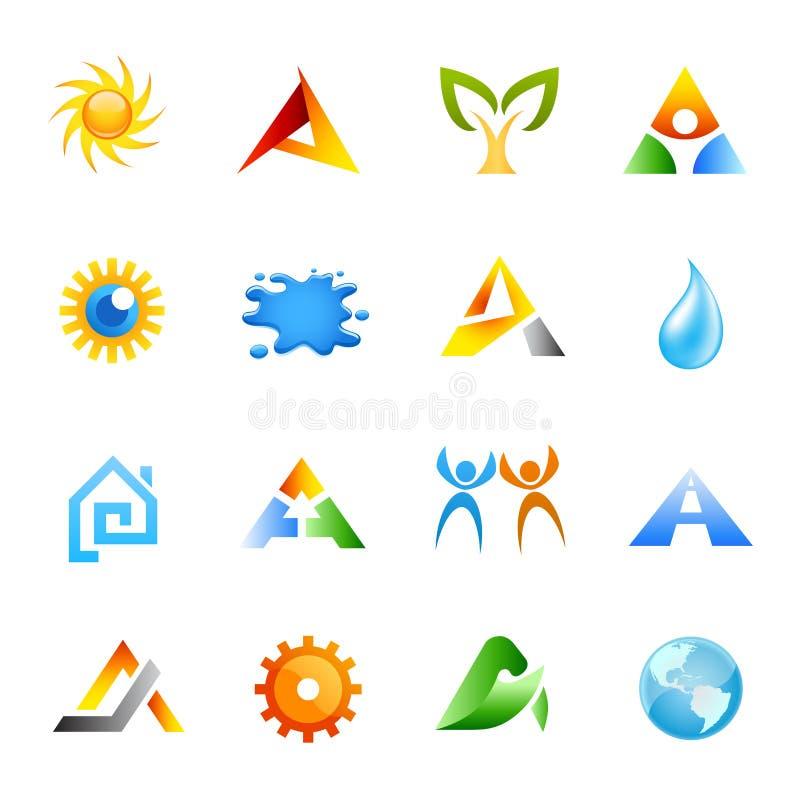 сеть иконы установленная иллюстрация вектора