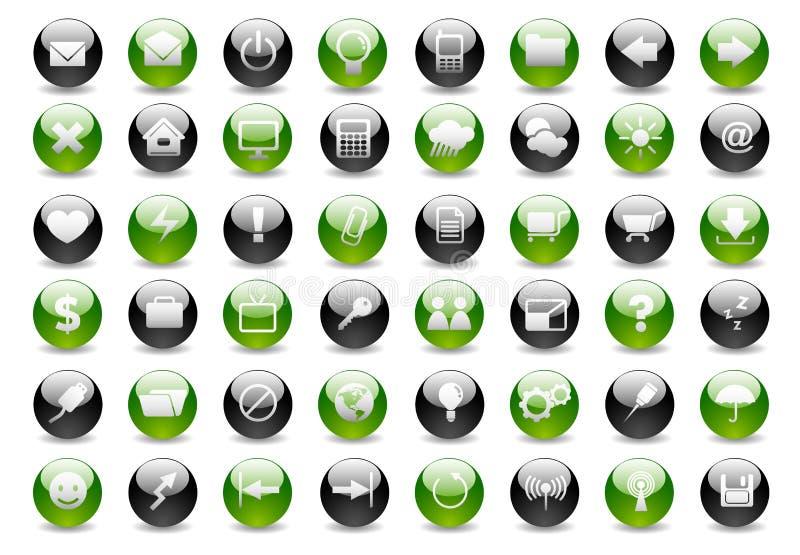 сеть иконы part1 установленная бесплатная иллюстрация