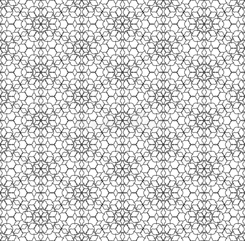 Сеть картины геометрии вектора современная безшовная священная иллюстрация штока