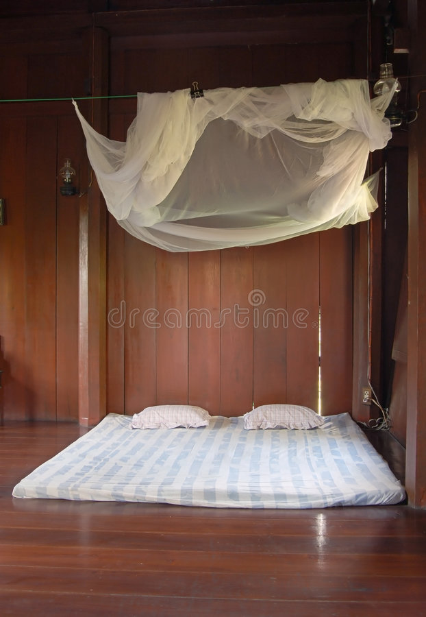сеть кровати стоковая фотография