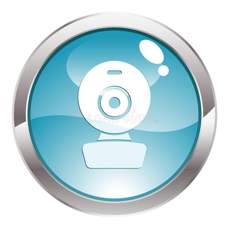 сеть лоска кулачка кнопки иллюстрация штока