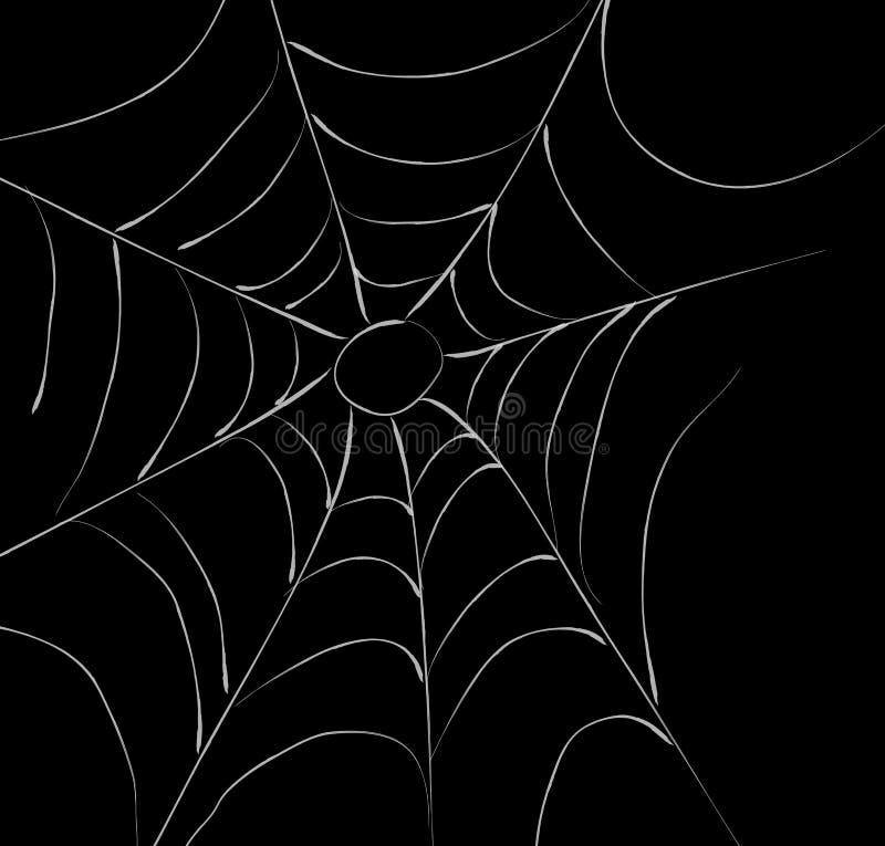 сеть паука s иллюстрация вектора