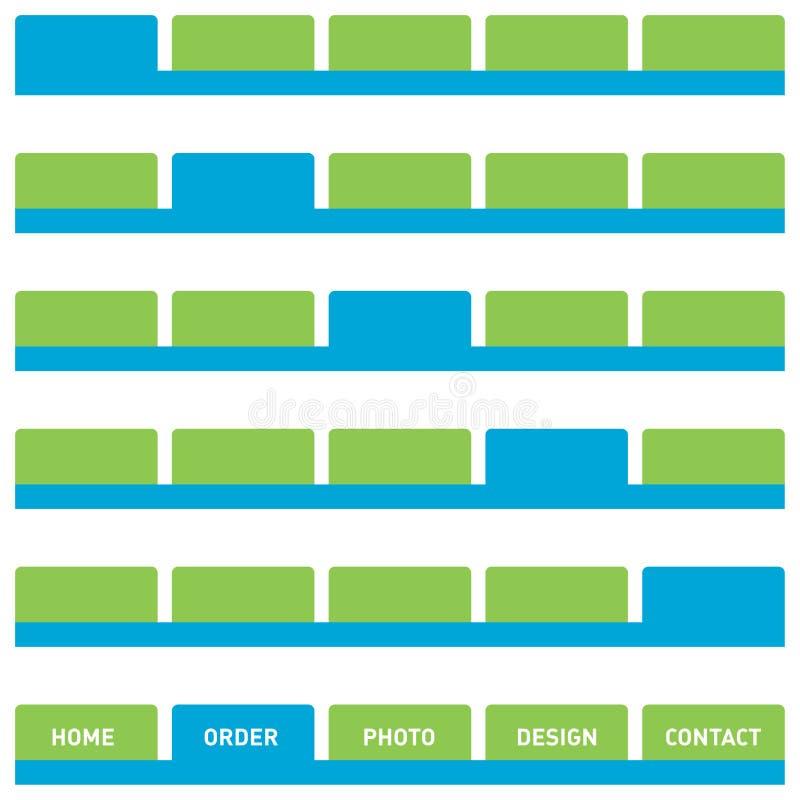 сеть плат кнопок иллюстрация штока