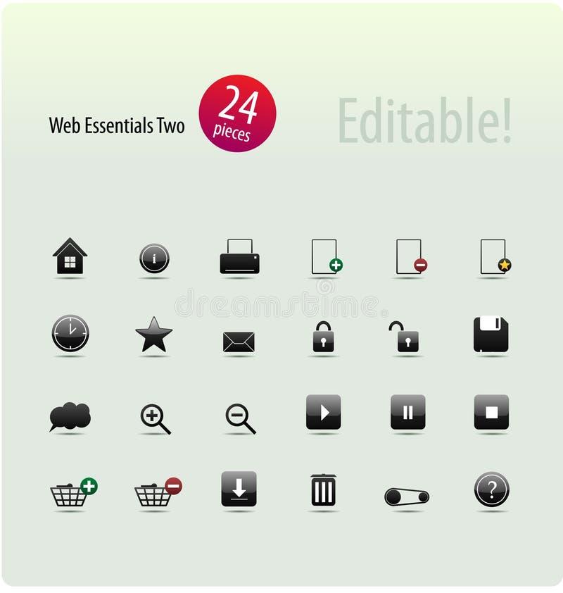 сеть предметов первой необходимости 2 бесплатная иллюстрация