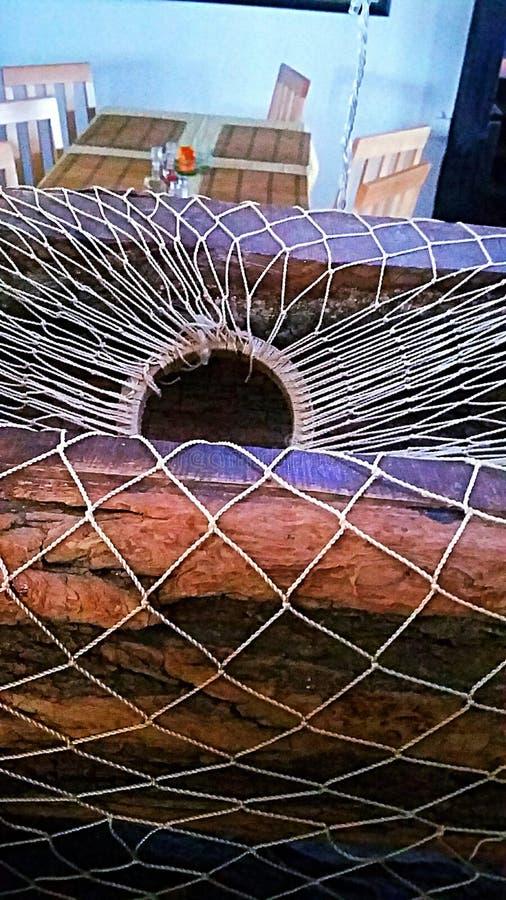 Сеть рыбной ловли стоковая фотография