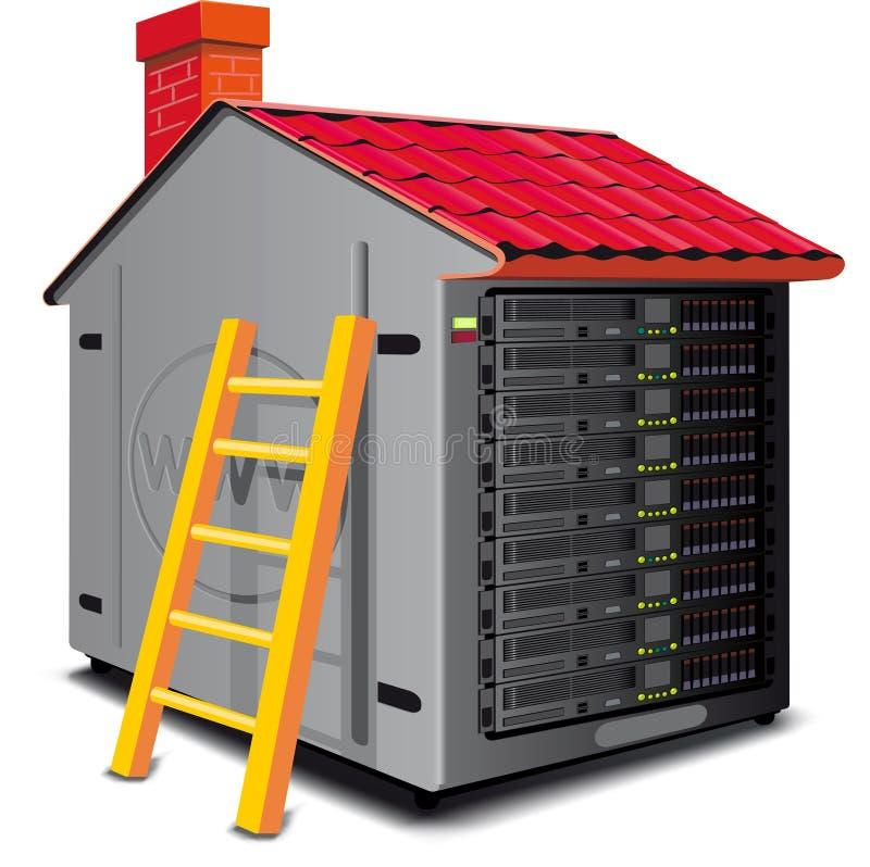 сеть сервера бесплатная иллюстрация