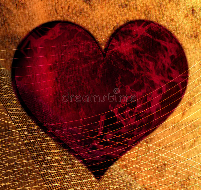 сеть сердца бесплатная иллюстрация