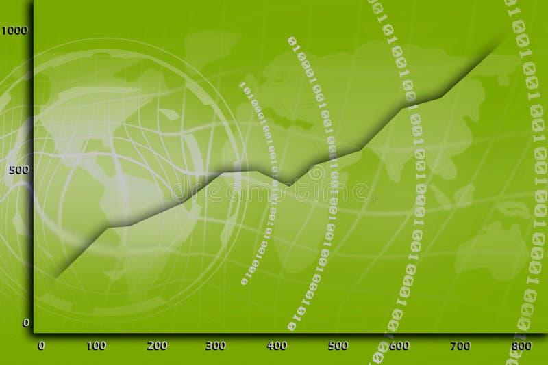 сеть статистик иллюстрация штока