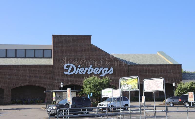 Сеть супермаркетов Сент-Луис Diebergs, Миссури стоковые фото