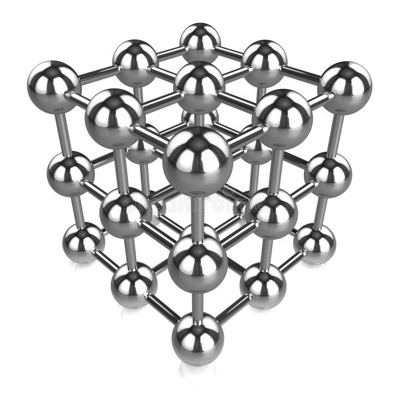 сеть сферы хрома 3d бесплатная иллюстрация