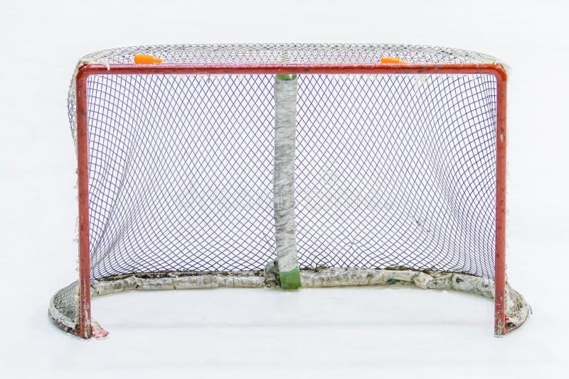 Сеть хоккея на льде стоковая фотография rf