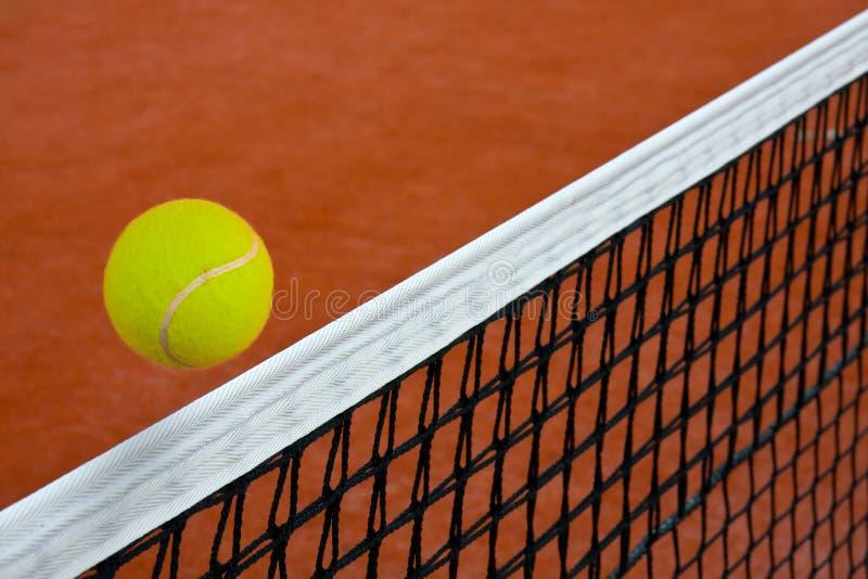 сеть шарика над теннисом стоковые фото
