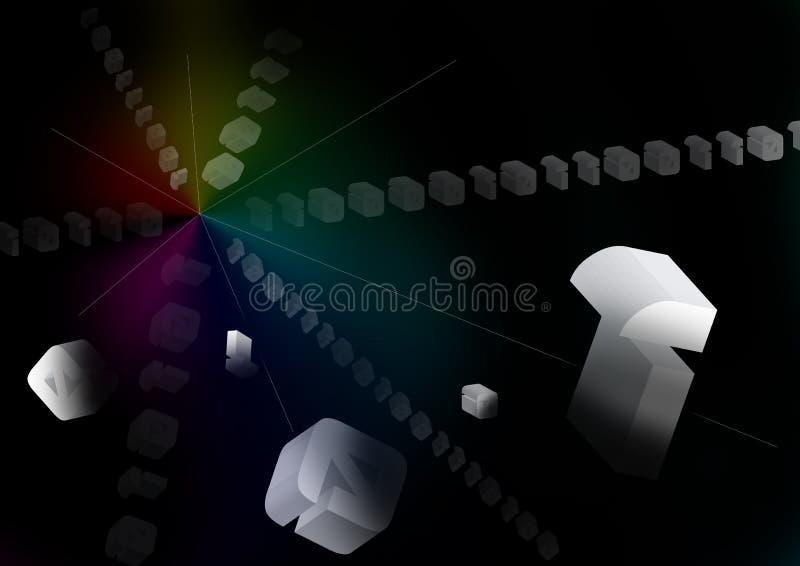 сеть 106 конструкций иллюстрация штока