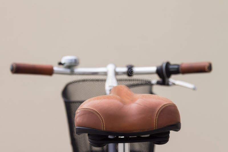 Седловина велосипеда стоковые фото