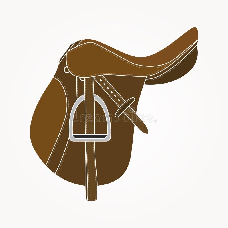 Седловина лошади иллюстрация вектора