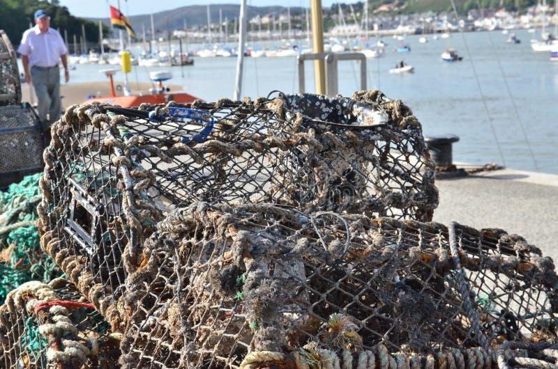 село Испании рыболовства Астурии cudillero стоковые фотографии rf