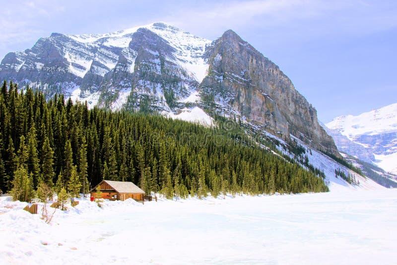 Сельская местность горы Snowy стоковое фото rf
