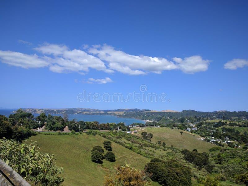 Сельская местность Новой Зеландии стоковая фотография rf