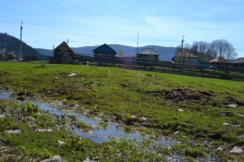 Сельская местность Inser стоковые изображения rf