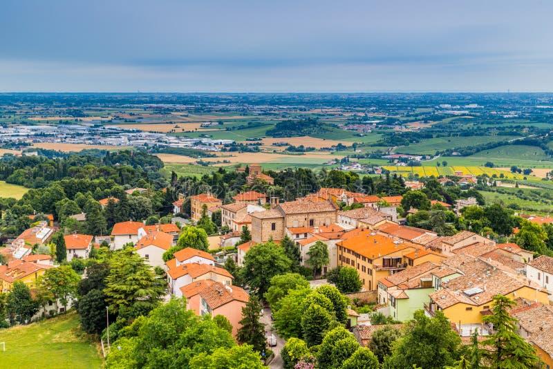 Сельская местность Romagna в Италии стоковые фотографии rf