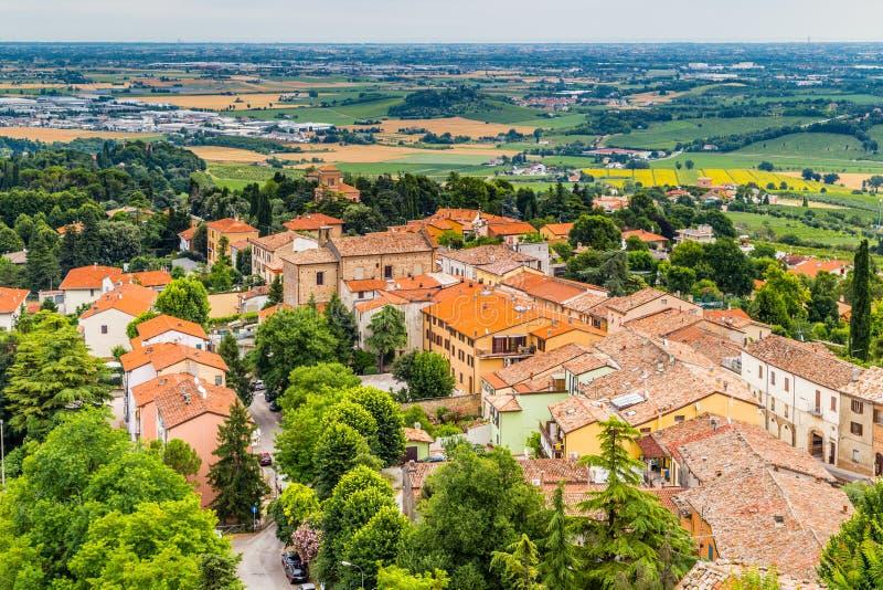 Сельская местность Romagna в Италии стоковое фото