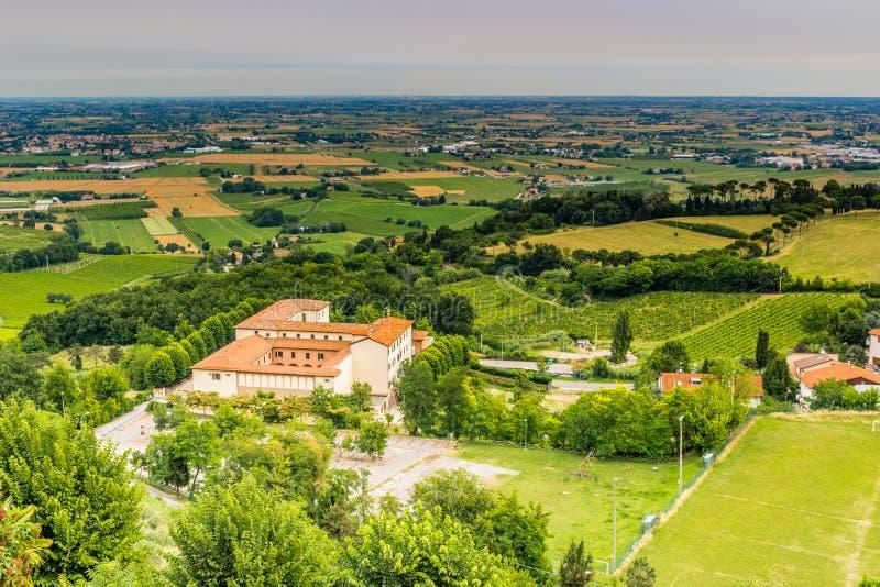 Сельская местность Romagna в Италии стоковая фотография rf