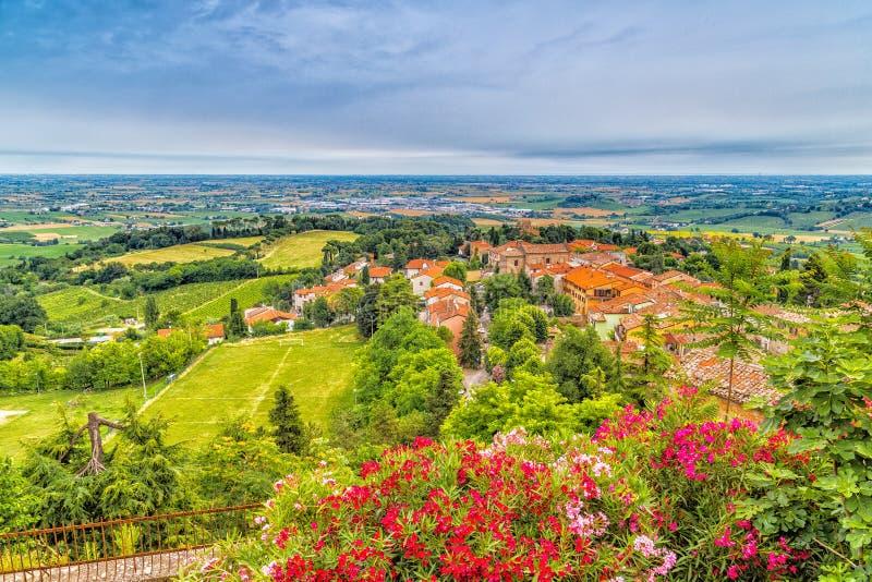 Сельская местность Romagna в Италии стоковое фото rf